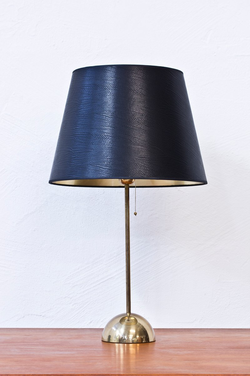 Swedish brass table lamp from bergboms 1960s for sale at pamono mozeypictures Images