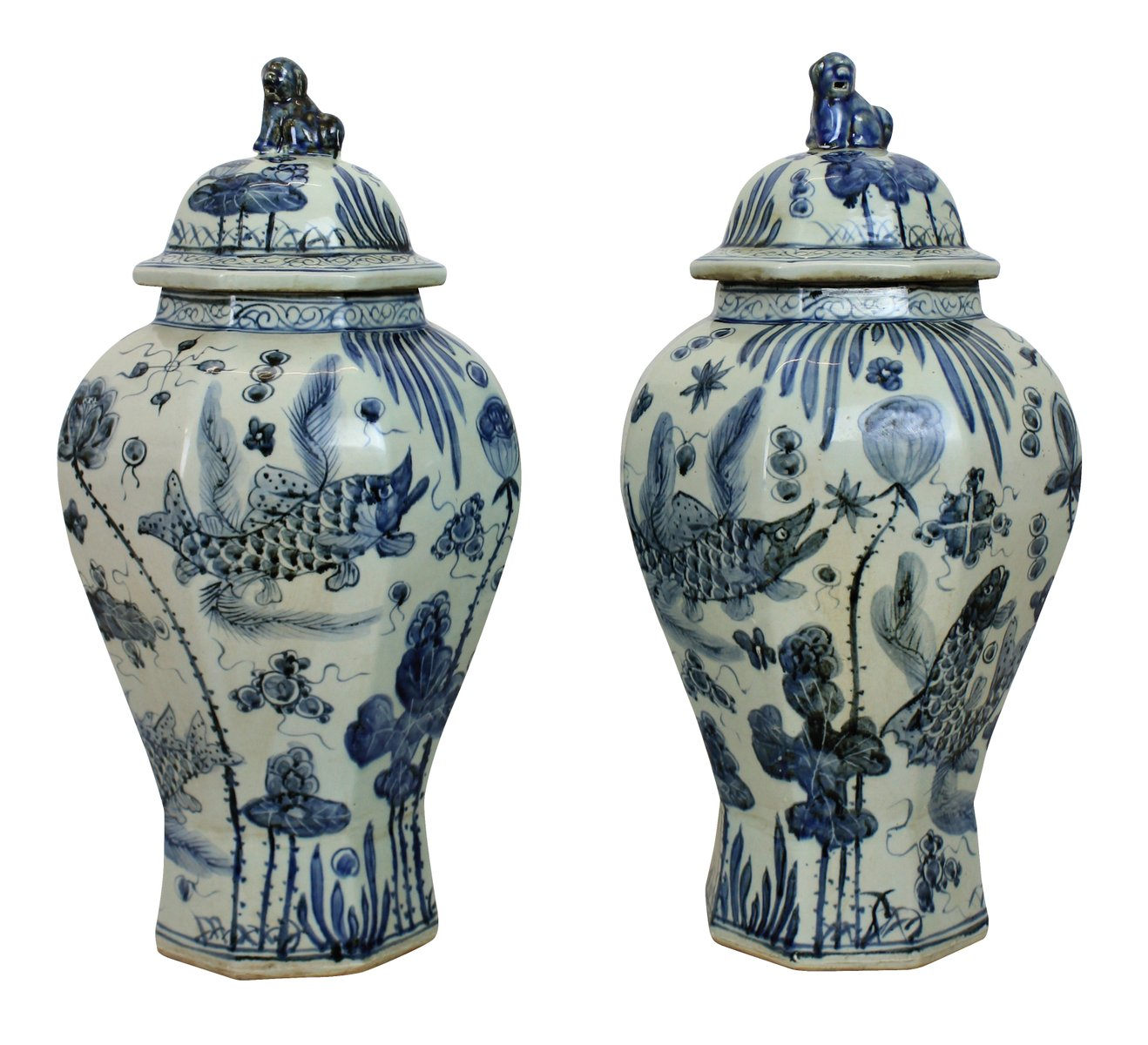 antique chinese vases set of 2 for sale at pamono. Black Bedroom Furniture Sets. Home Design Ideas