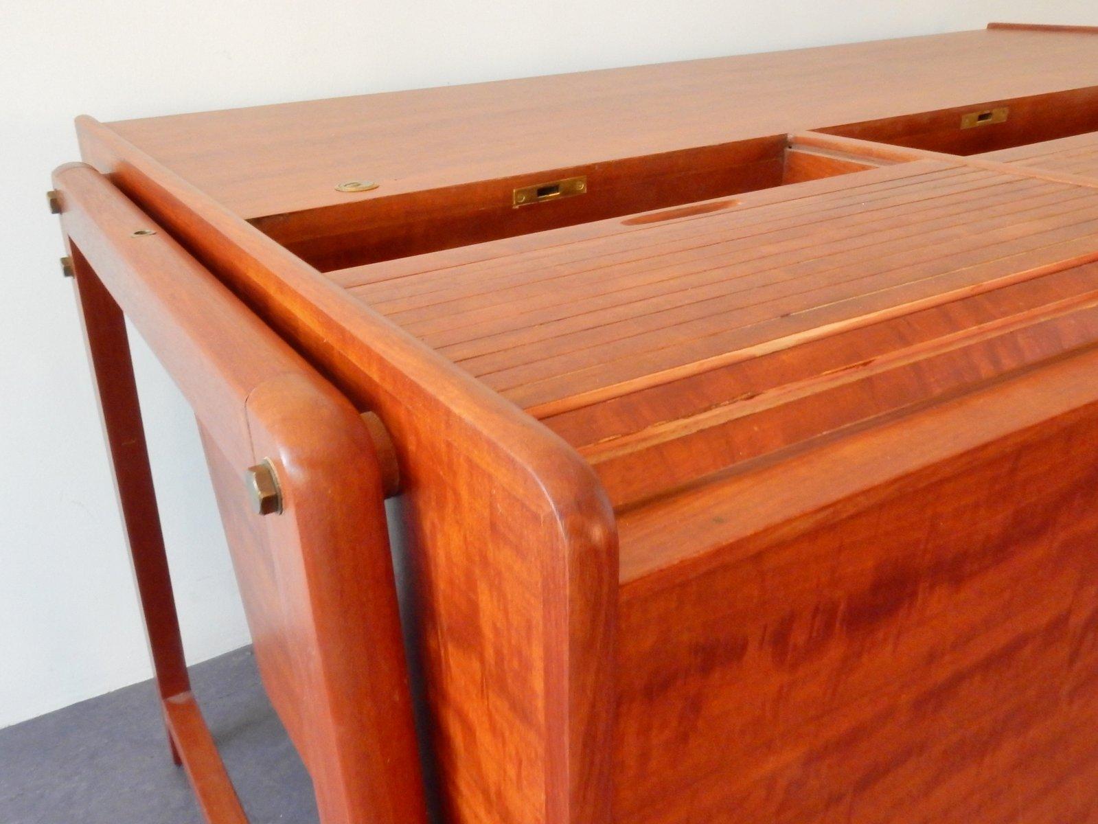 vintage mahagoni schreibtisch von clausen maerus bei pamono kaufen. Black Bedroom Furniture Sets. Home Design Ideas