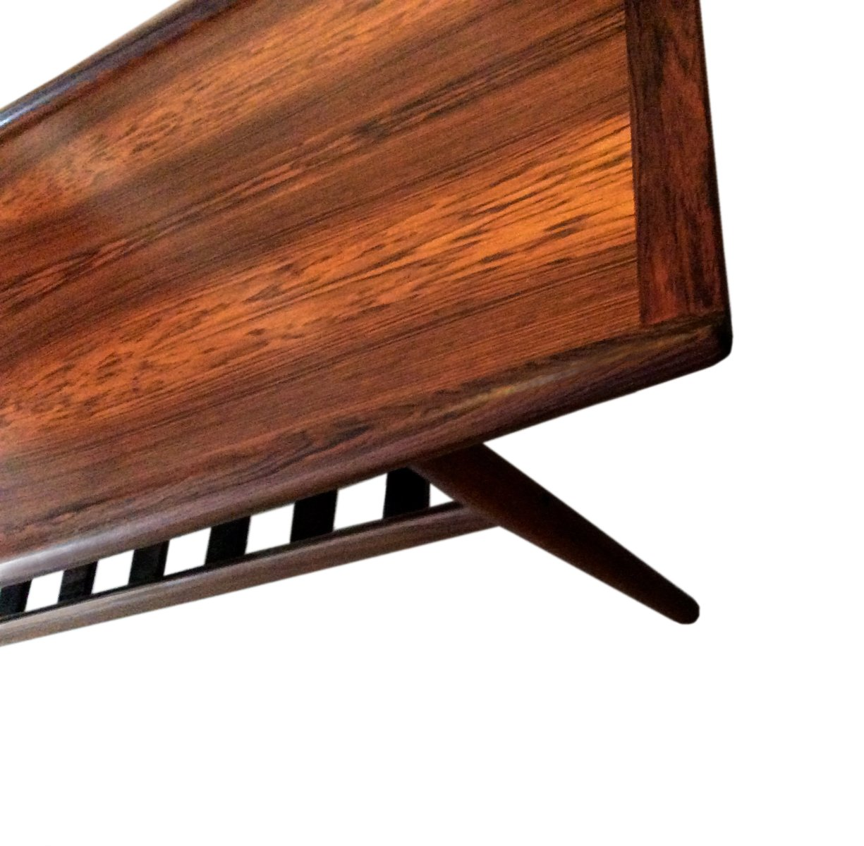 brazilian rosewood club table by grete jalk for glostrup. Black Bedroom Furniture Sets. Home Design Ideas