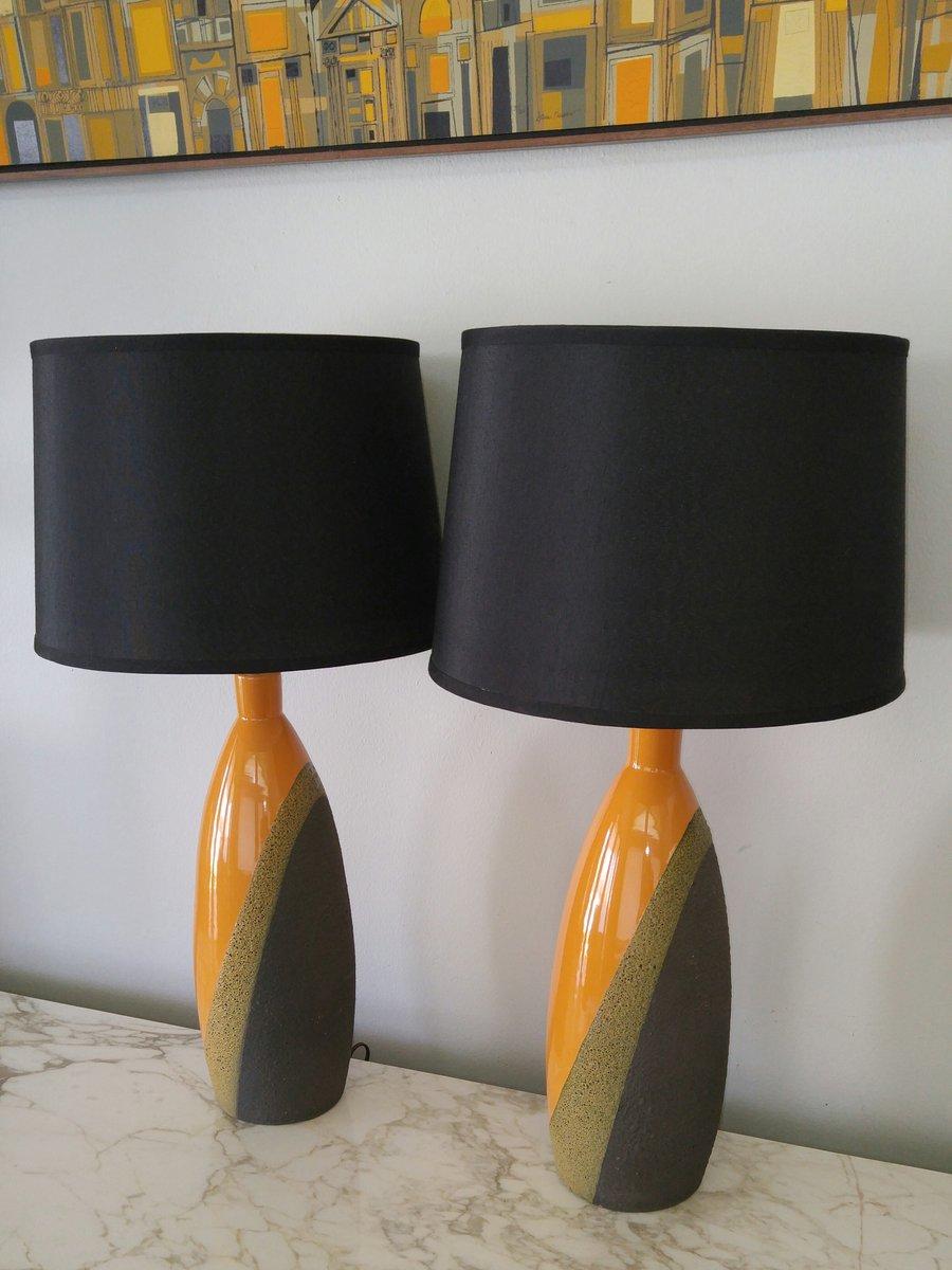 italienische tischlampen von ettore sottsass f r bitossi. Black Bedroom Furniture Sets. Home Design Ideas