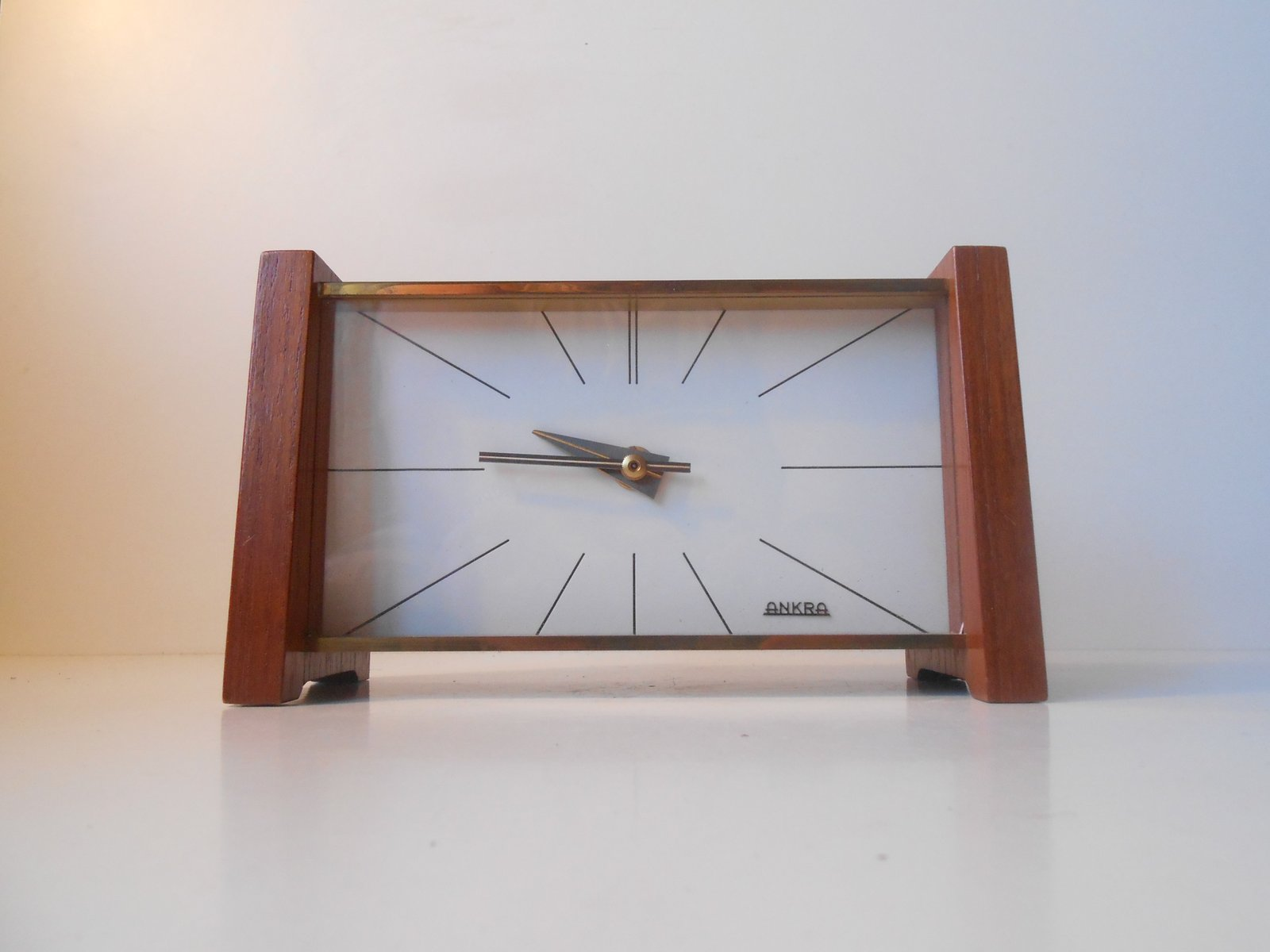 Charming Mid Century Modern Table Clock From Ankra