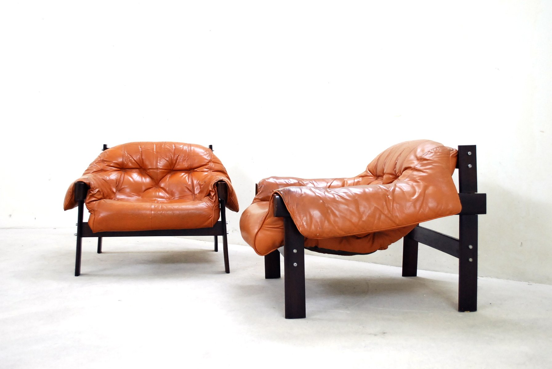 Lounge Chair leather lounge chair by percival lafer for sale at pamono
