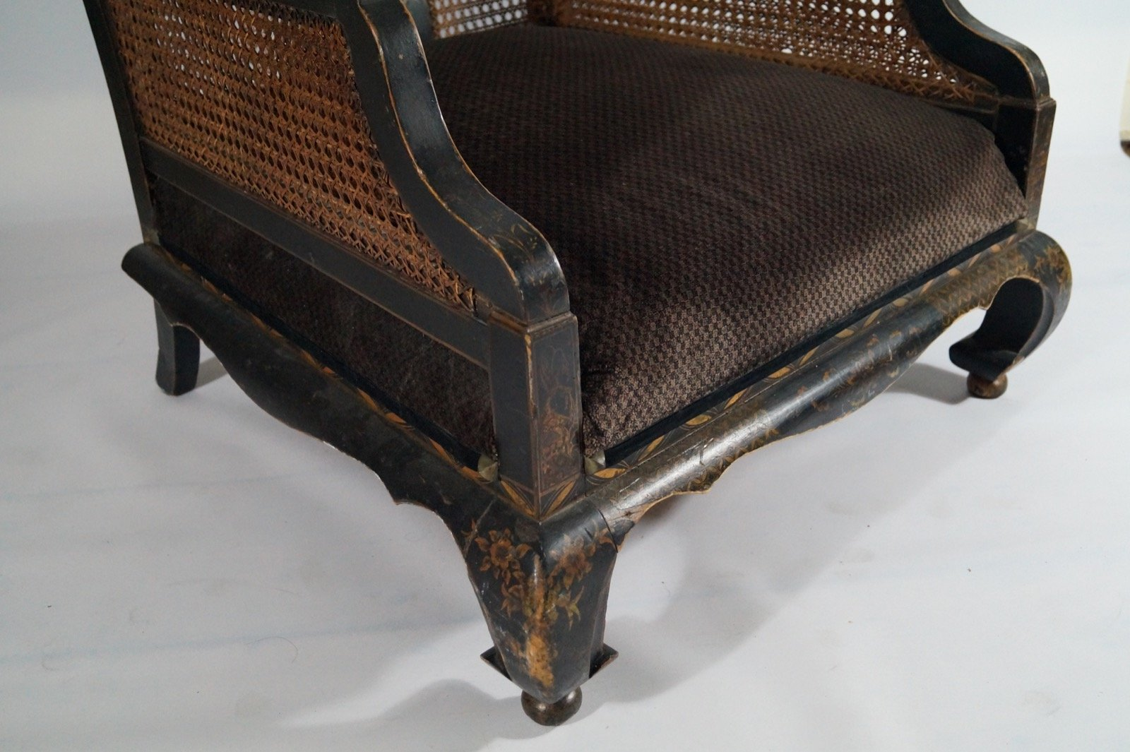 Superb Antique Hand Painted Chinese Armchair For Sale At Pamono