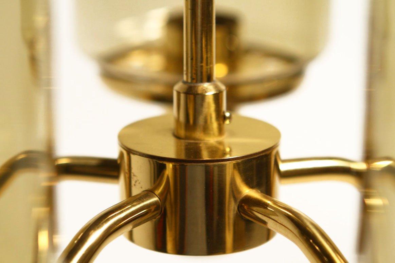 rauchglas kronleuchter von hans agne jakobsson f r. Black Bedroom Furniture Sets. Home Design Ideas