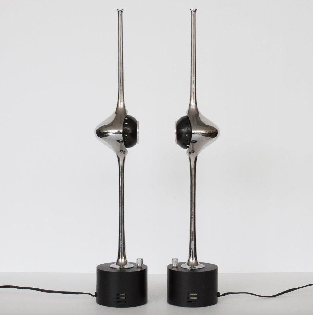 Cobra lampen von angelo lelli f r arredoluce 2er set bei for Lampen niederlande