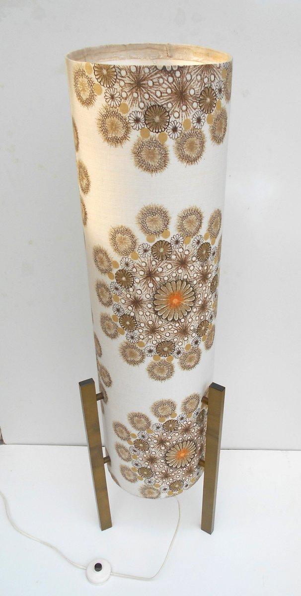 italienische stehlampe aus karton stoff von bruno munari 1960er bei pamono kaufen. Black Bedroom Furniture Sets. Home Design Ideas