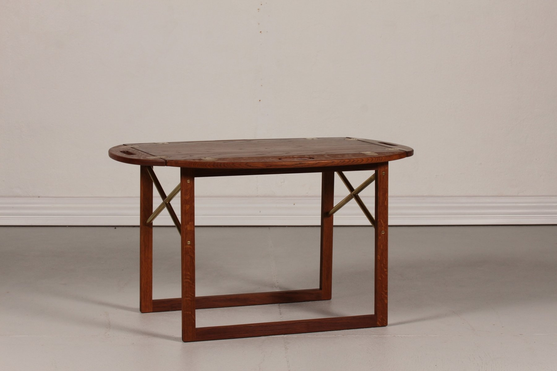 Danish Oak Tray Coffee Table By Svend Langkilde, 1960s