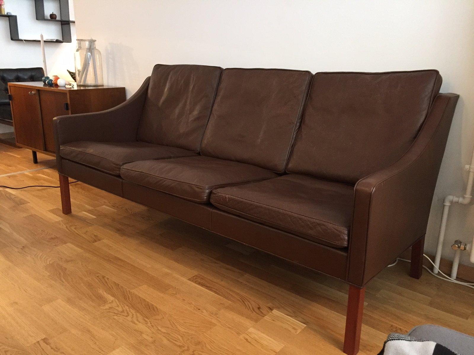 d nisches sofa von borge mogensen f r fredericia. Black Bedroom Furniture Sets. Home Design Ideas