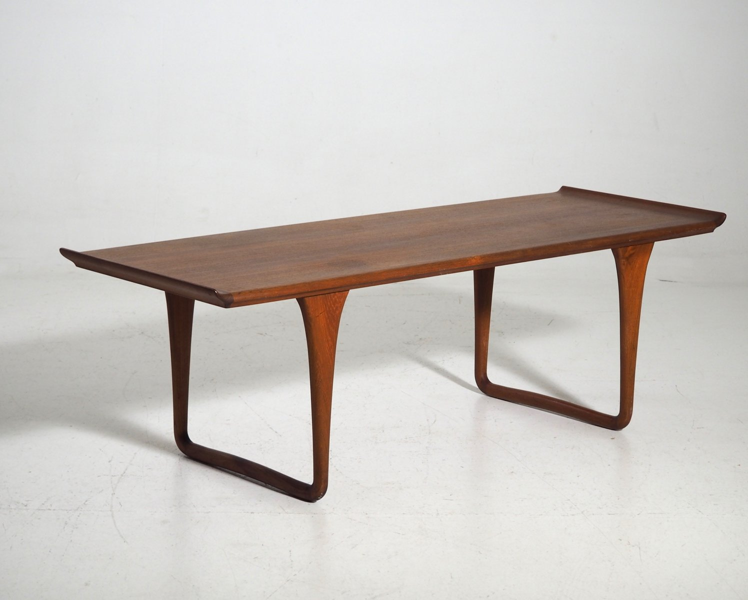 mid table walnut century and steel square coffee