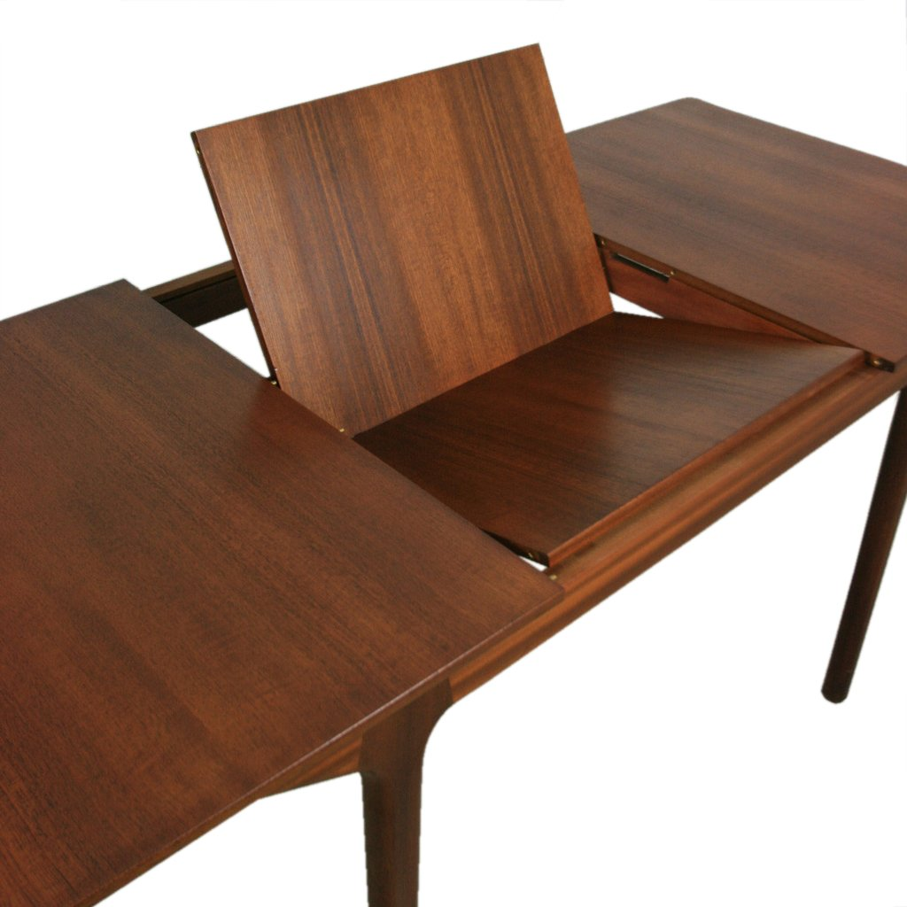 gro er mid century 12 sitzer esstisch aus teakholz von tom robertson f r mcintosh bei pamono kaufen. Black Bedroom Furniture Sets. Home Design Ideas