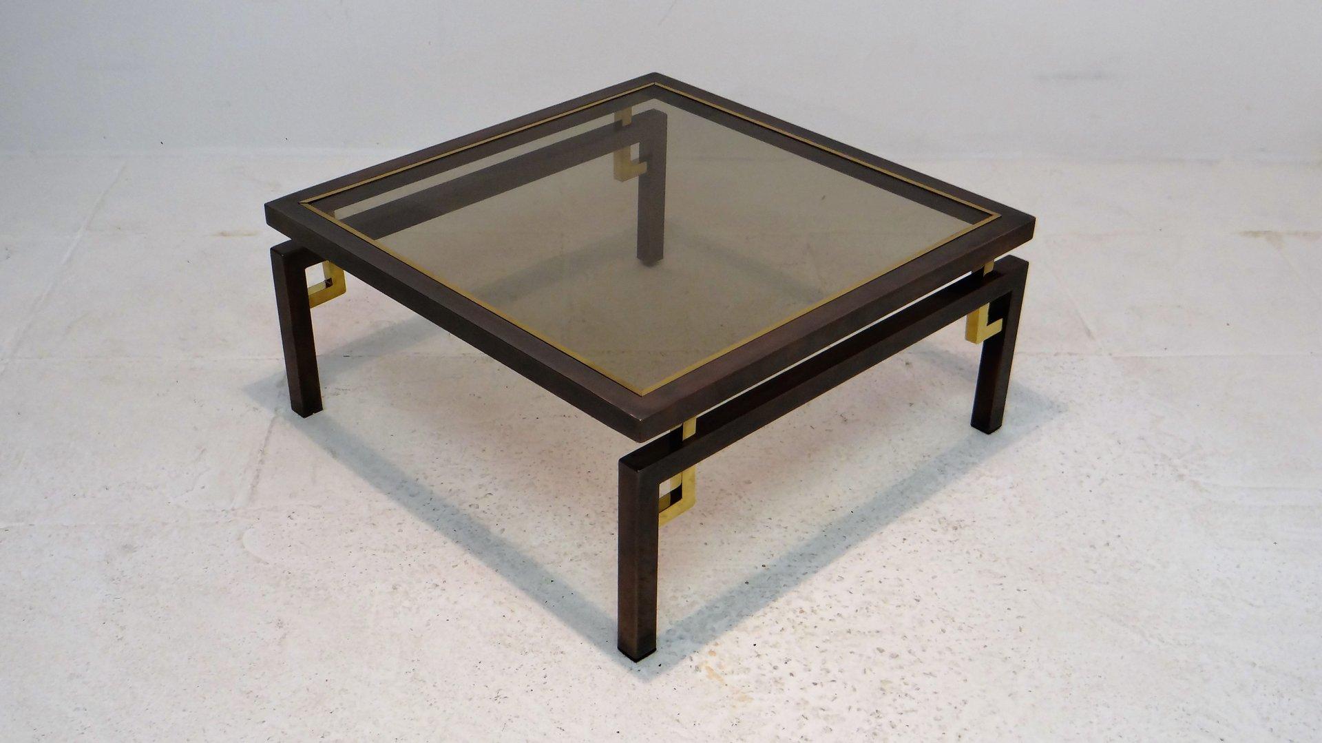 vintage couchtisch aus geb rsteter bronze kupfer von. Black Bedroom Furniture Sets. Home Design Ideas