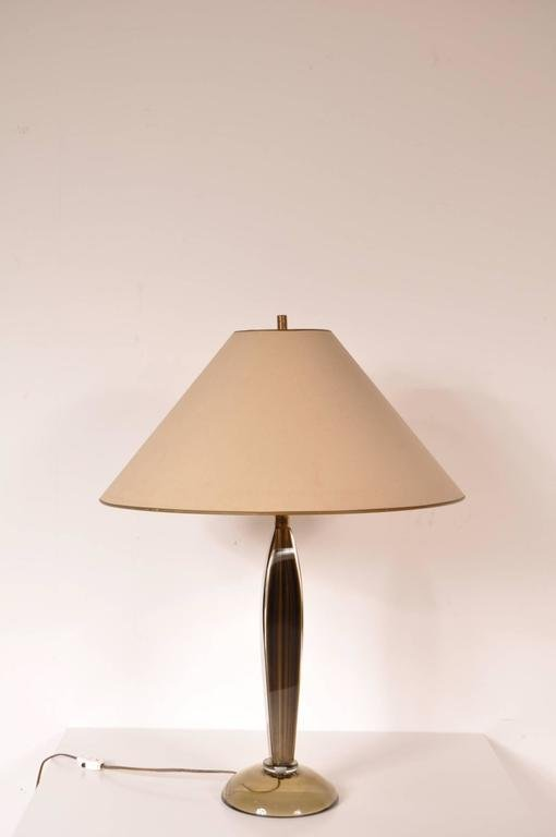 Murano glass table lamp by flavio poli for seguso 1960s for sale murano glass table lamp by flavio poli for seguso 1960s for sale at pamono aloadofball Image collections