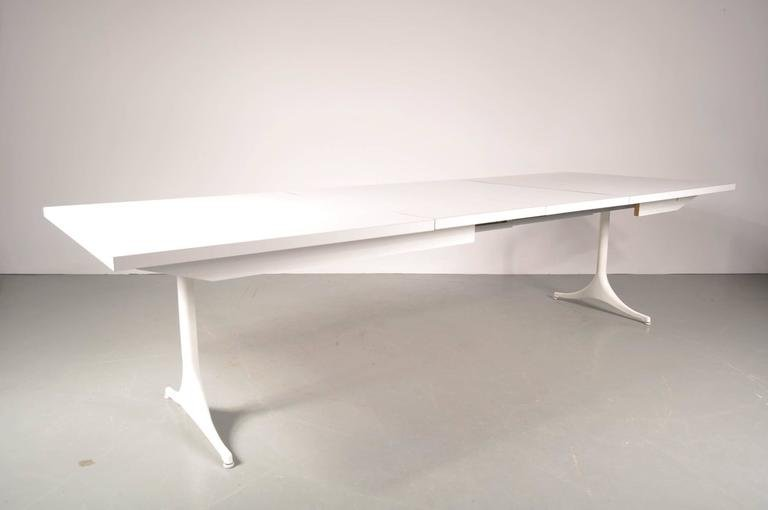 Extendable American Dining Table By George Nelson For Herman Miller 1960s