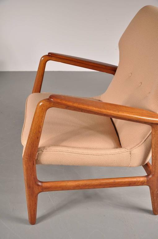 polsterst hle von aksel bender madsen f r bovenkamp 1950er 2er set bei pamono kaufen. Black Bedroom Furniture Sets. Home Design Ideas