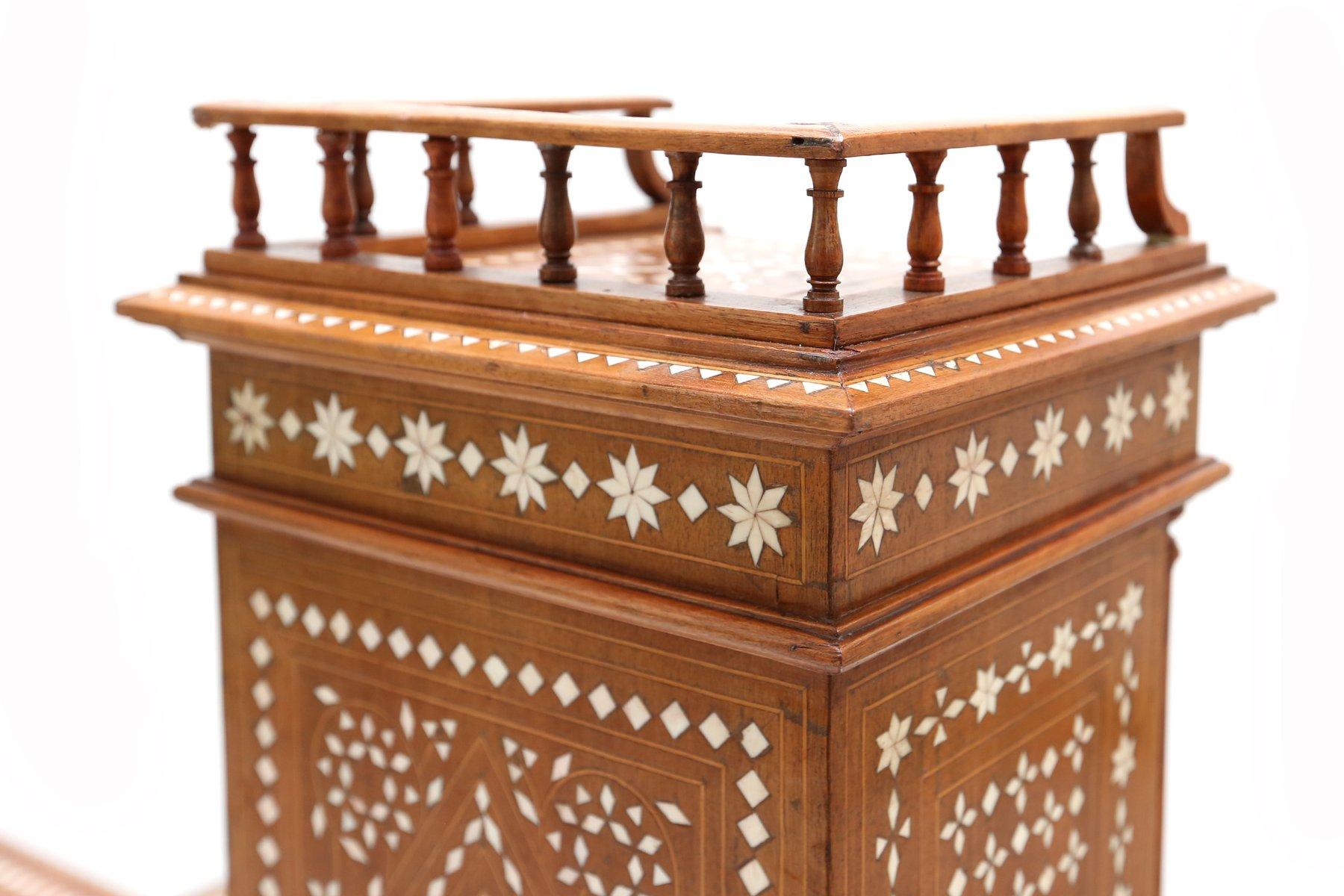 Antique oriental style desk chair 1880s for sale at pamono for Oriental style desk