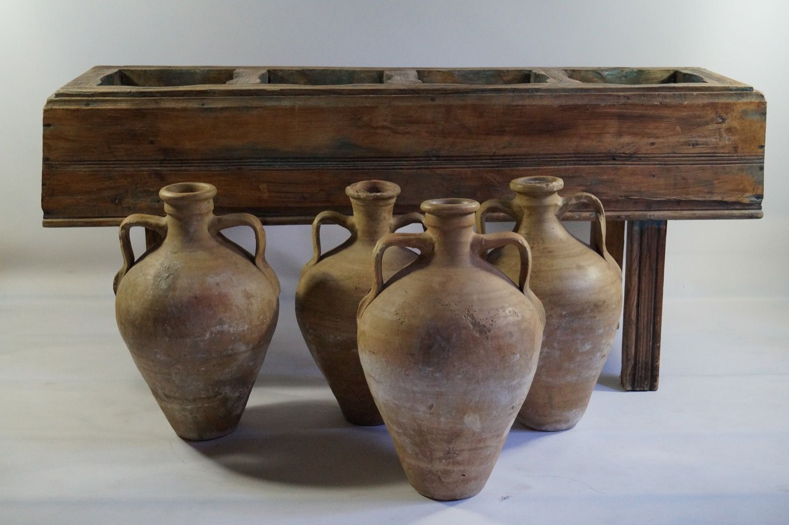 Antique italian table with four olive oil jars for sale at pamono price per set reviewsmspy