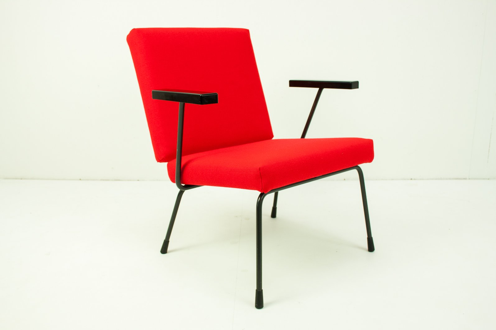 Rietveld Stuhl model 415 1401 chair by wim rietveld for gispen 1950s for sale at