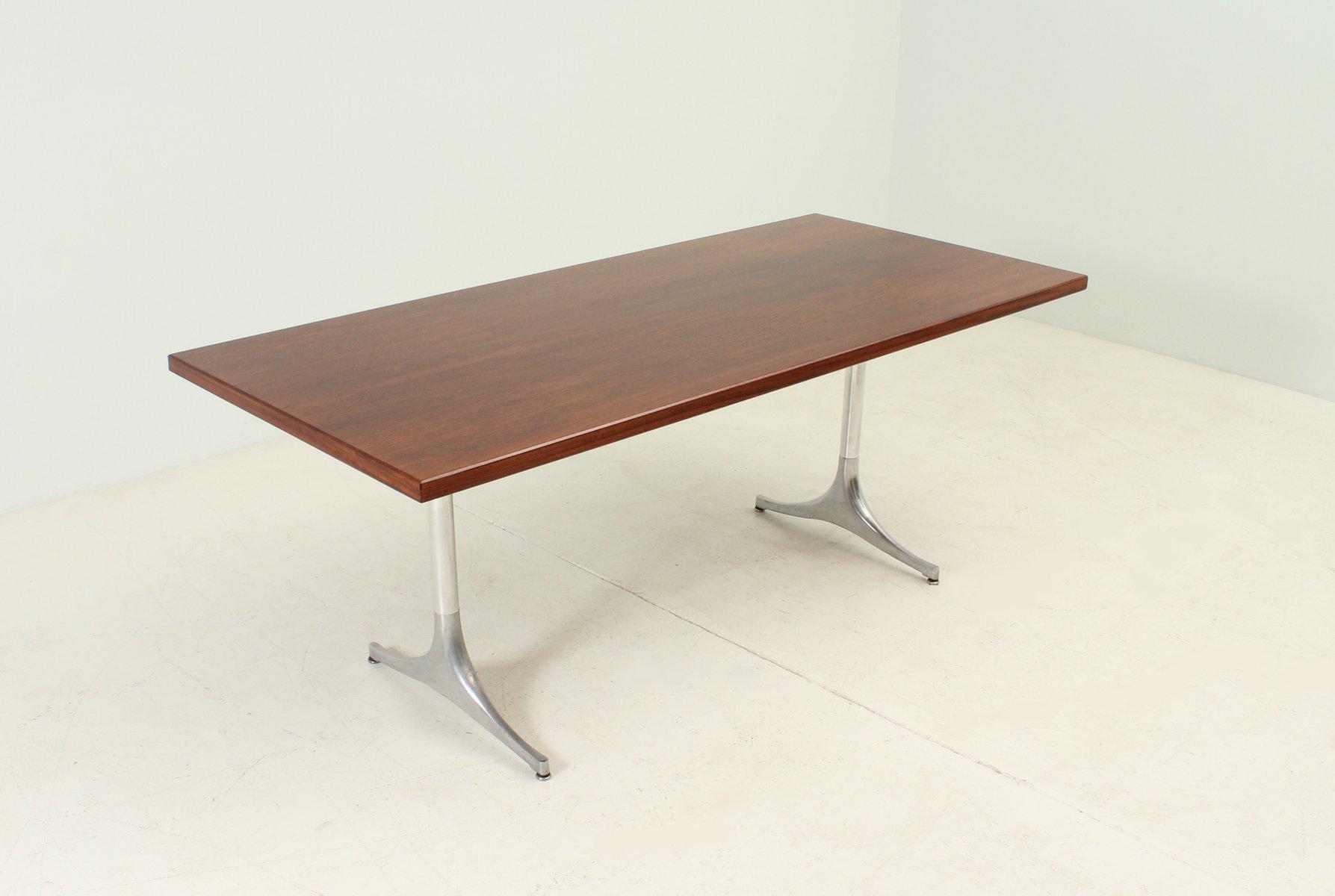 palisander tisch von george nelson f r herman miller bei pamono kaufen. Black Bedroom Furniture Sets. Home Design Ideas