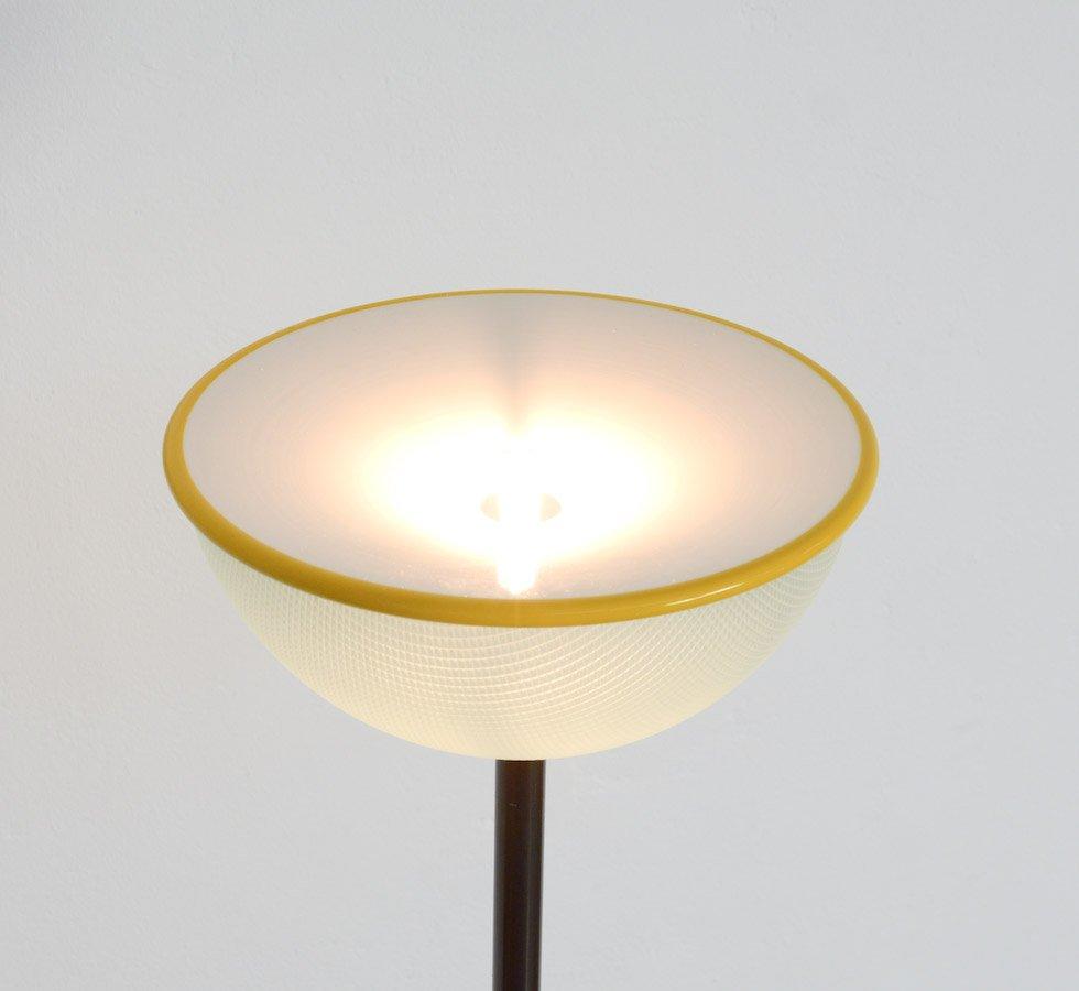Italian Metal Uplight Floor Lamp For Sale At Pamono