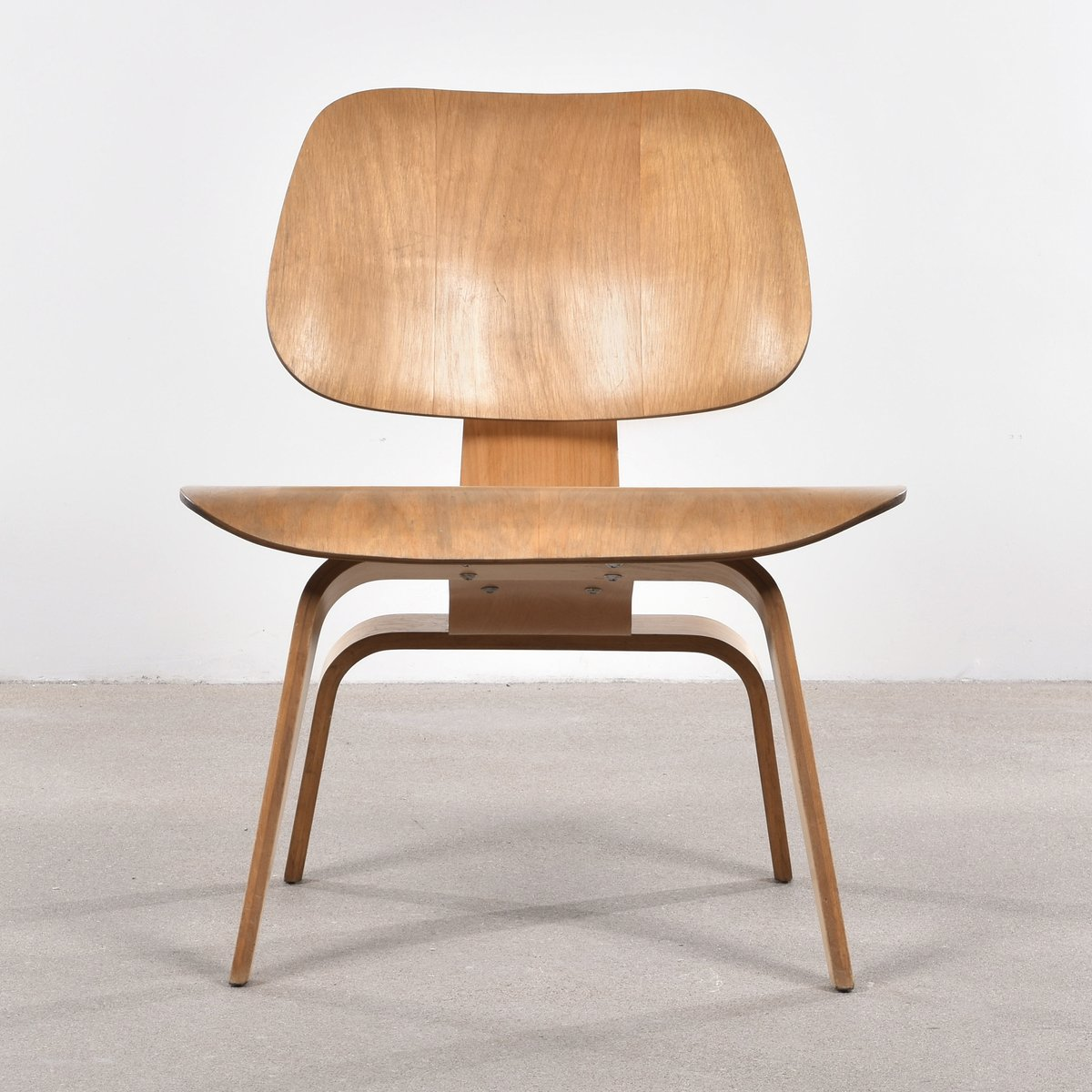American Lcw Oak Lounge Chair By Charles Amp Ray Eames For