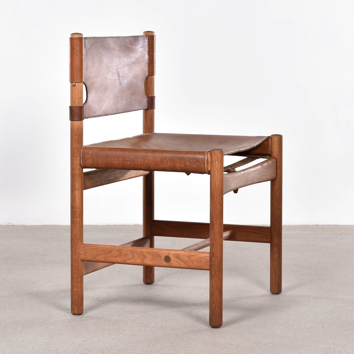 Perfect Mid Century Model 3251 Hunting Chair By Børge Mogensen For Fredericia  Furniture