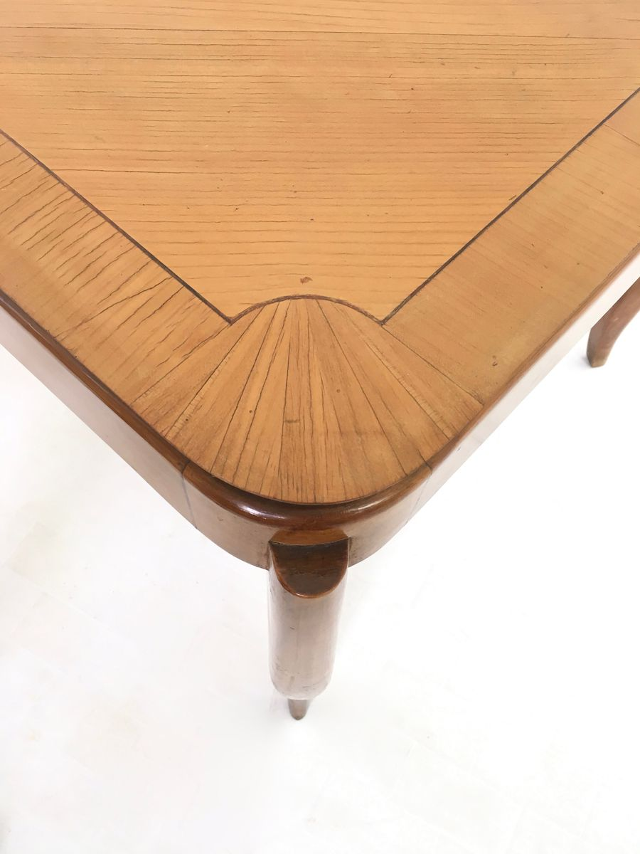 vintage esstisch aus kirschholz bei pamono kaufen. Black Bedroom Furniture Sets. Home Design Ideas