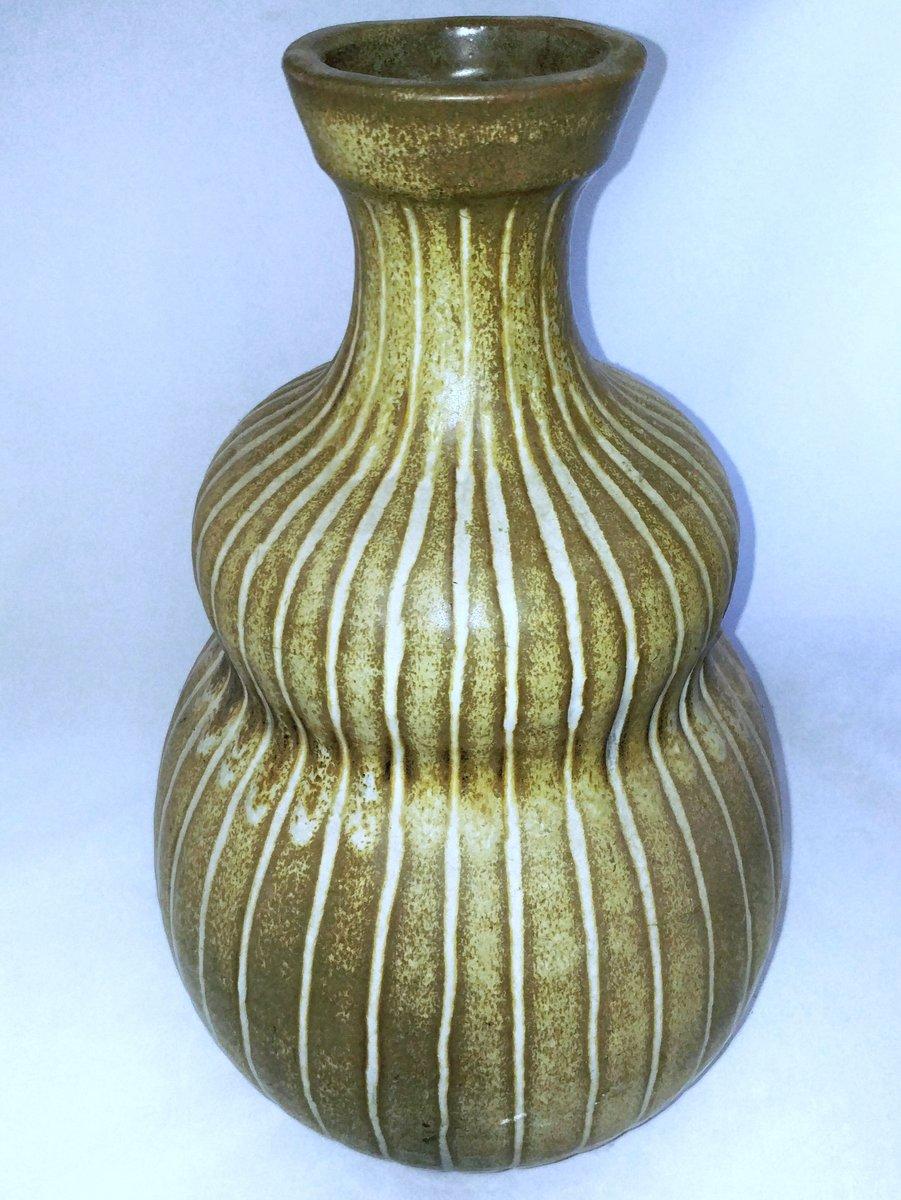 vase in k rbisform von harding black 1958 bei pamono kaufen. Black Bedroom Furniture Sets. Home Design Ideas