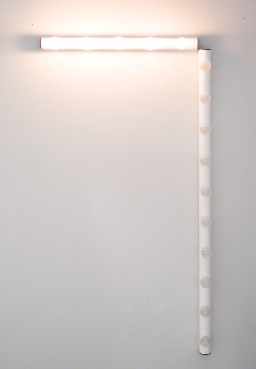spiegel lampe von iguzzini 1980er bei pamono kaufen. Black Bedroom Furniture Sets. Home Design Ideas