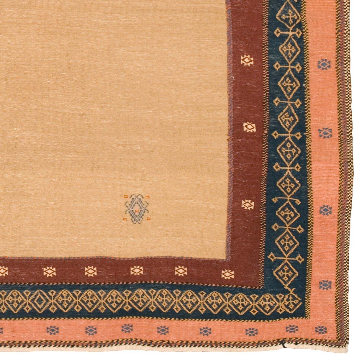 bestickter persischer kilim teppich bei pamono kaufen. Black Bedroom Furniture Sets. Home Design Ideas