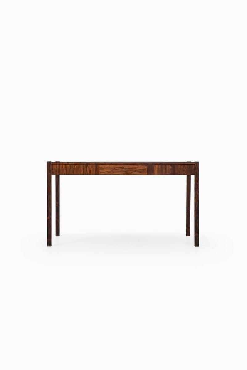 schwedischer palisander schreibtisch mit schachfeld. Black Bedroom Furniture Sets. Home Design Ideas