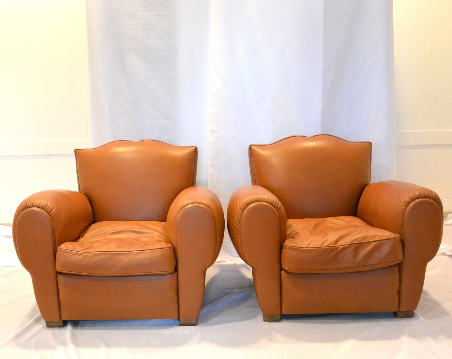 com chairs collectables napoleonrockefeller leather and vintage club product painted chair furniture brown armchairs