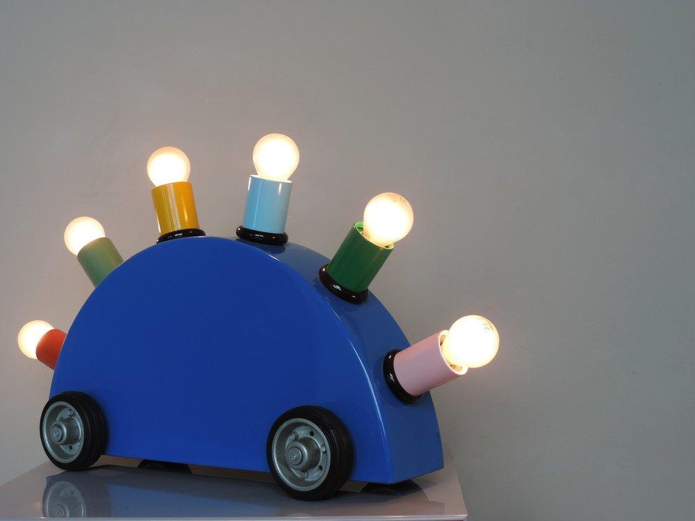 Postmodern super lamp by martine bedin for memphis milano for Design parade milano