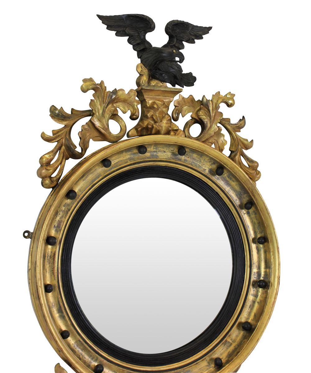 Englischer regency konvex spiegel 1840er bei pamono kaufen for Spiegel englisch