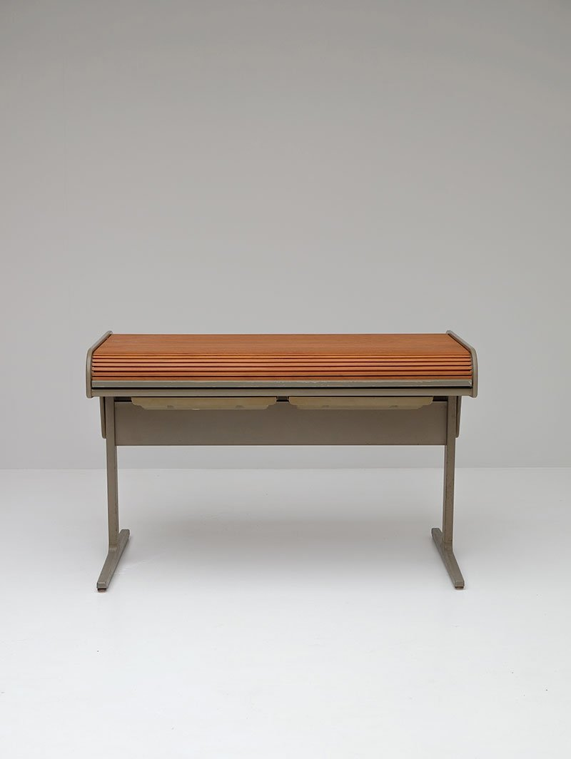 Vintage Action Office Desk By George Nelson For Herman