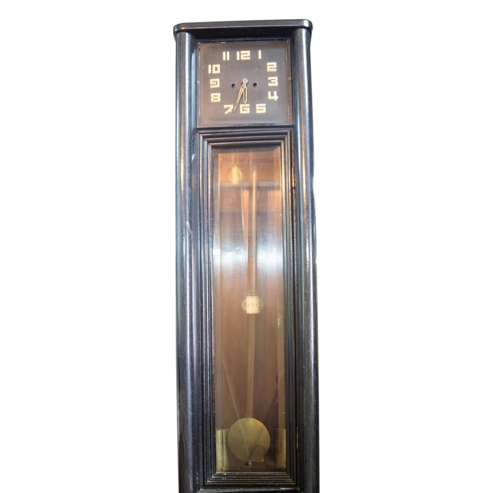 Czech art deco grandfather clock 1930s for sale at pamono for Deco 6 brumath