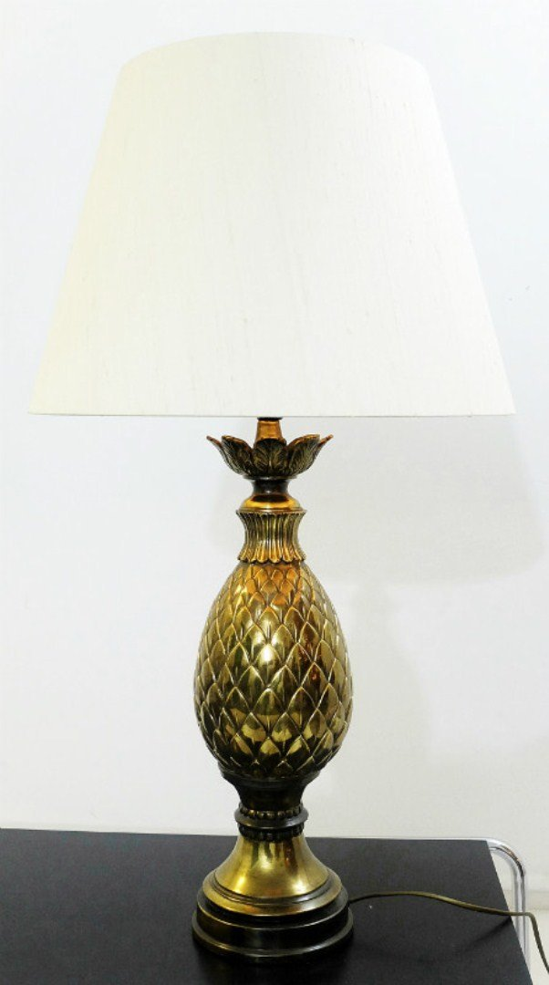 Vintage Pineapple Table Lamp for sale at Pamono