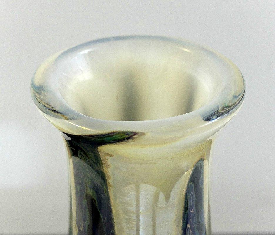 Vintage glasvase von samuel j herman 1969 bei pamono kaufen - Glasvase vintage ...