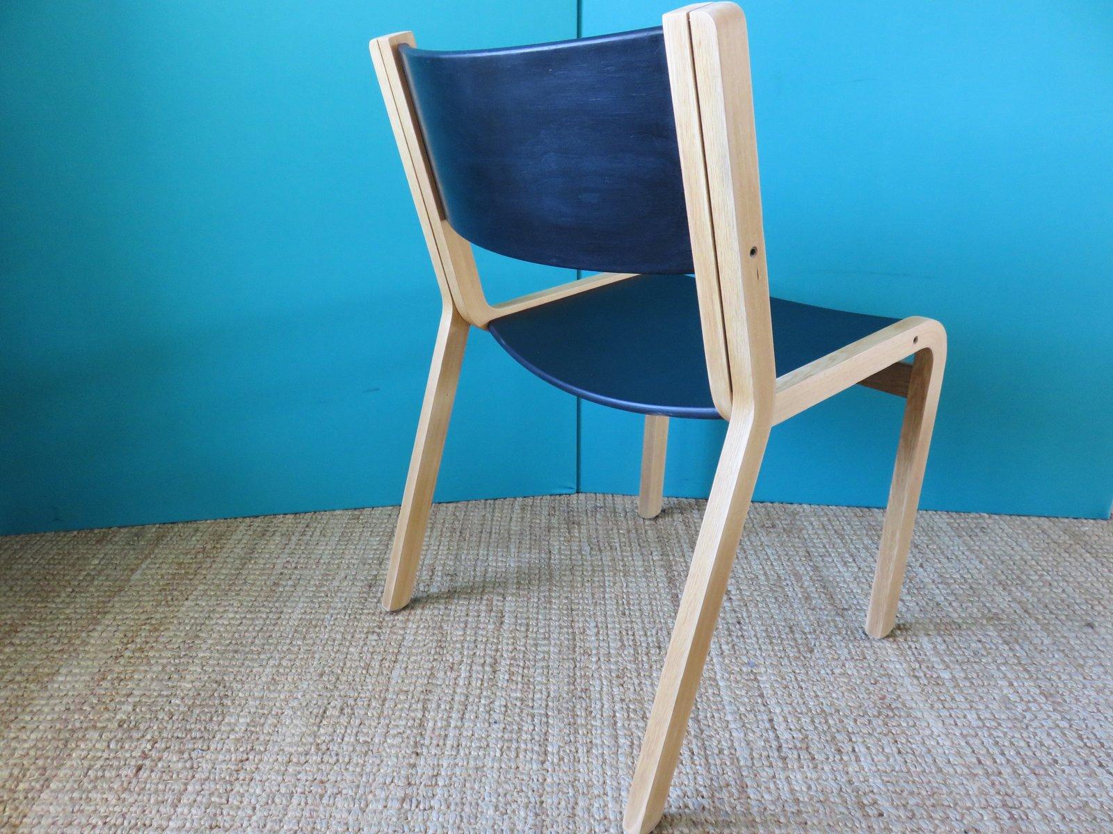 d nische st hle aus eiche von thygensen sorensen f r botium 1970 4er set bei pamono kaufen. Black Bedroom Furniture Sets. Home Design Ideas