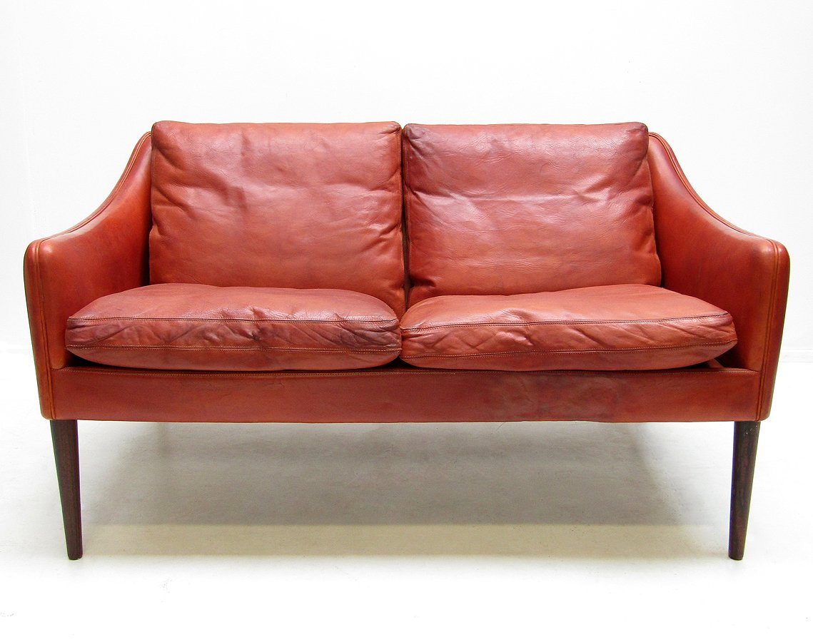 Two Seater Sofa By Hans Olsen For Cs Mobler 1960s