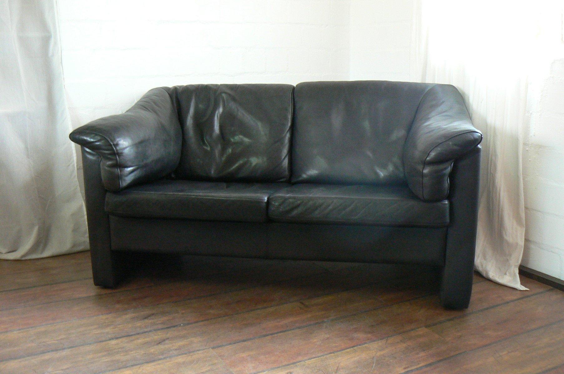 d nisches zwei sitzer sofa von mogens hansen 1980er bei pamono kaufen. Black Bedroom Furniture Sets. Home Design Ideas