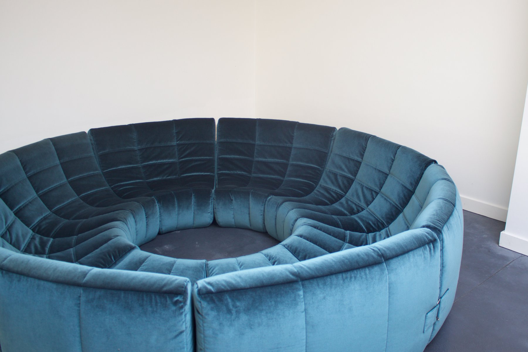 Sofa Circle Circle Sofa By Milo Baughman From Thayer