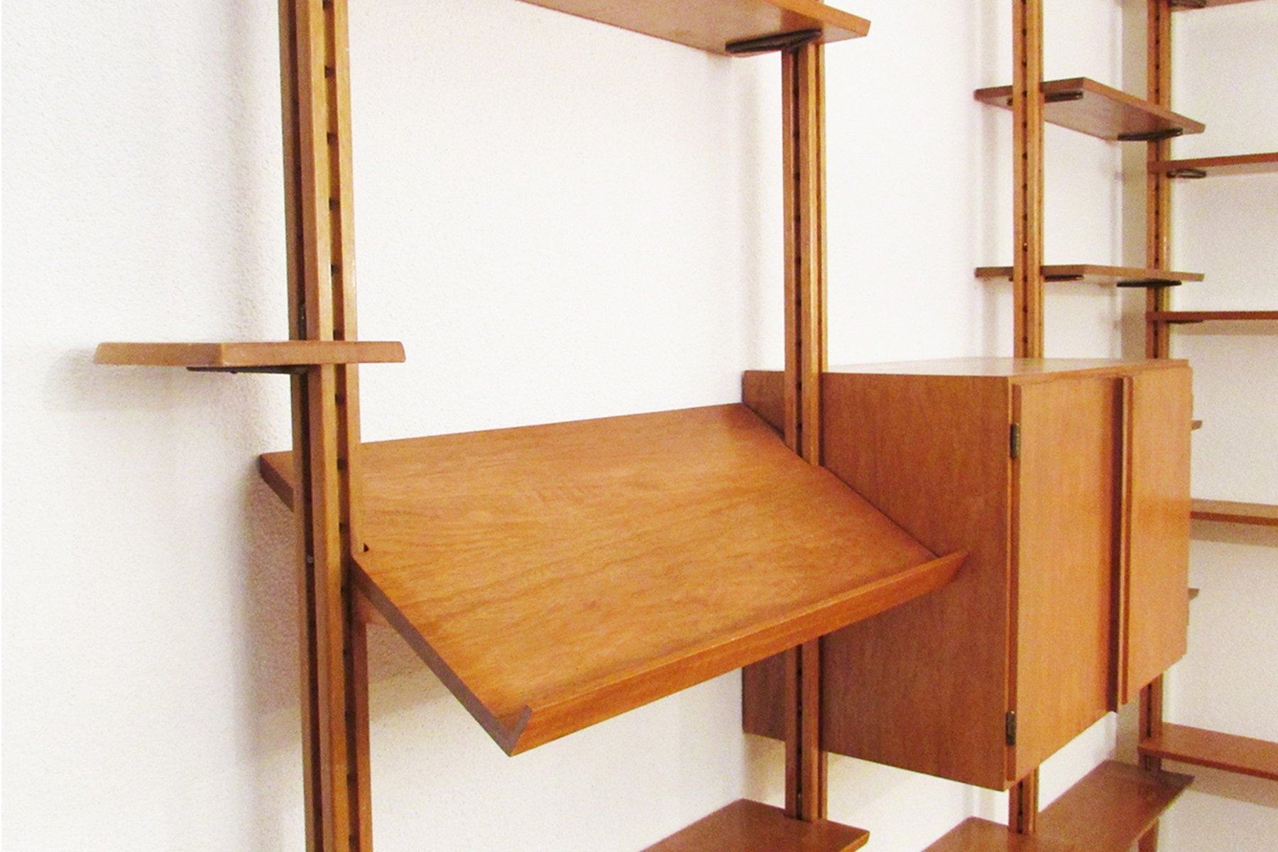 Mid Century Swiss Wall Unit for sale at Pamono