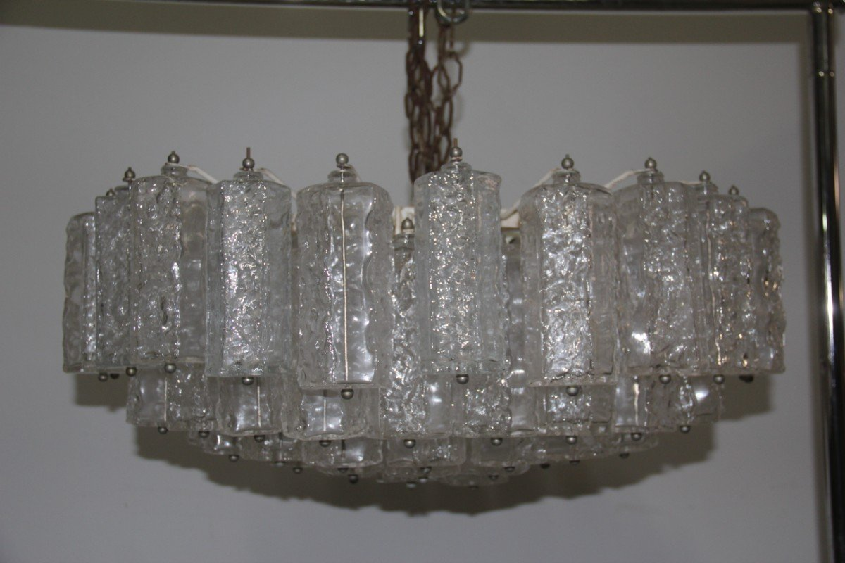 Kronleuchter Glas großer italienischer murano glas kronleuchter venini 1960