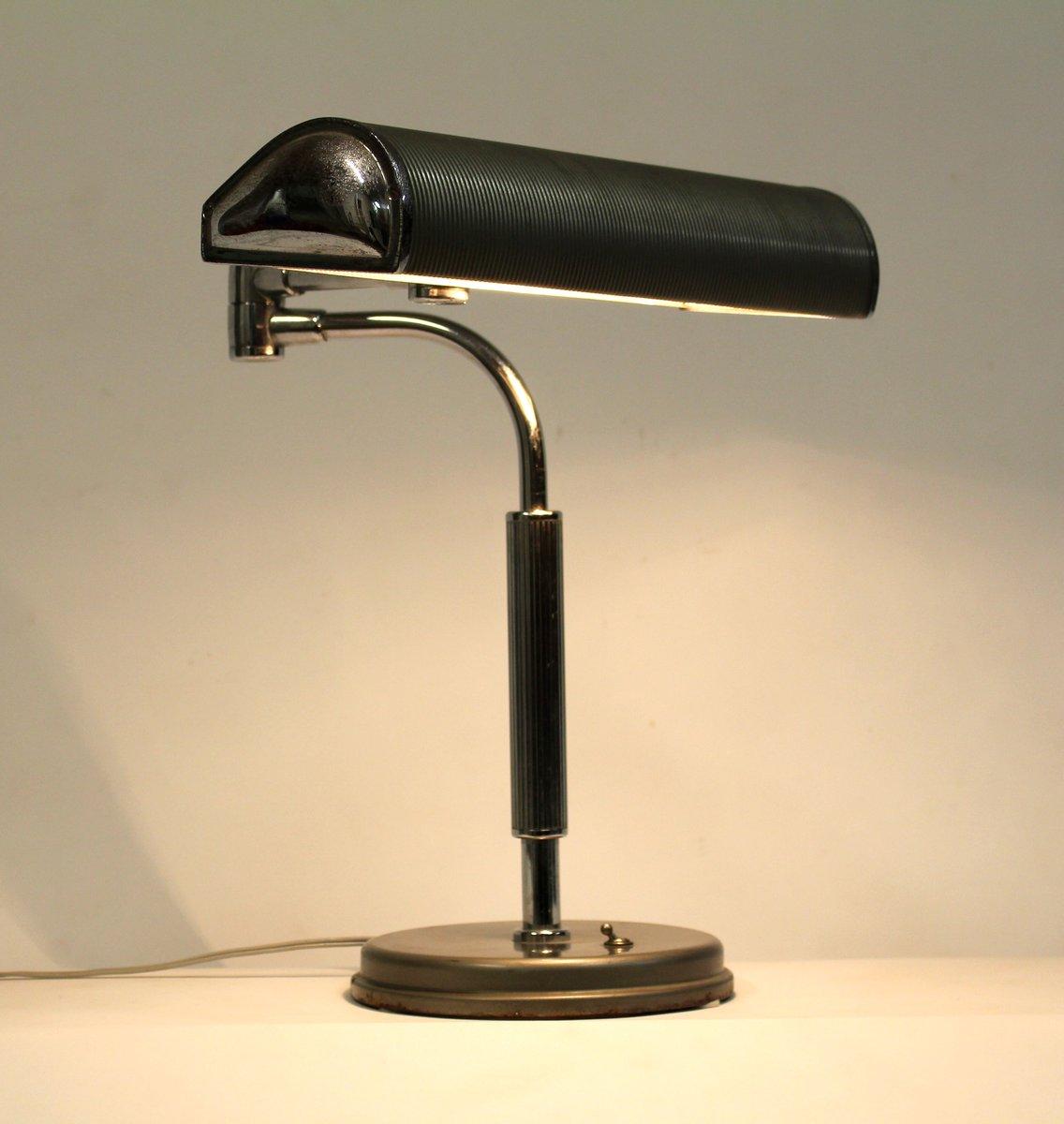 tischlampe von eileen gray f r jumo 1930er bei pamono kaufen. Black Bedroom Furniture Sets. Home Design Ideas