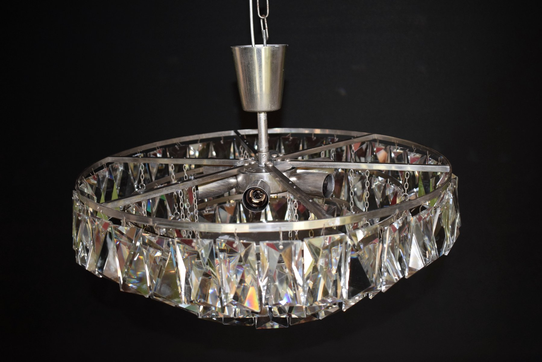 with post wrought candle archived black chandeliers rod chandelier crystal crystals on large interior iron category