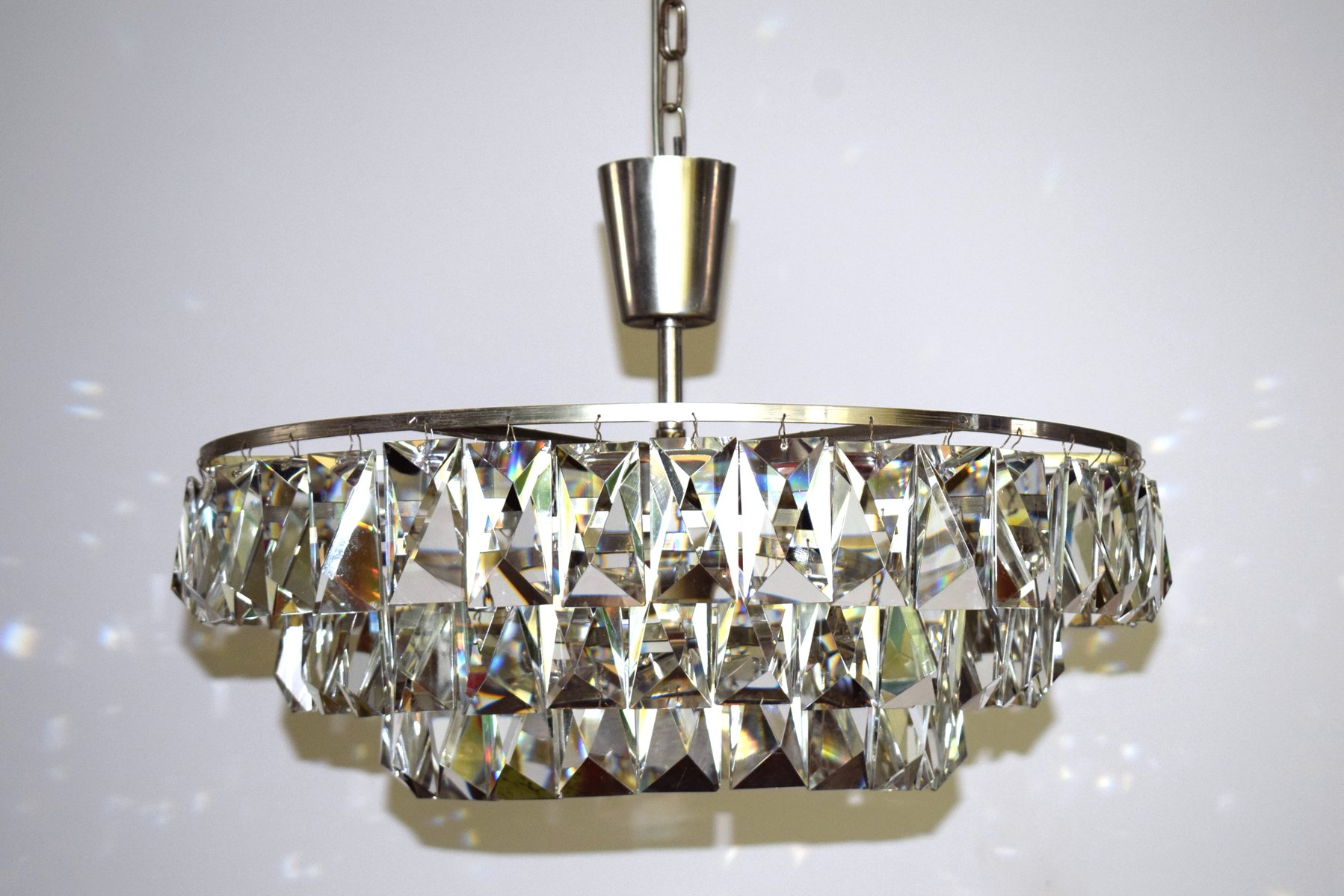 Austrian Crystal Chandelier from Bakalowits & Sohne 1960s