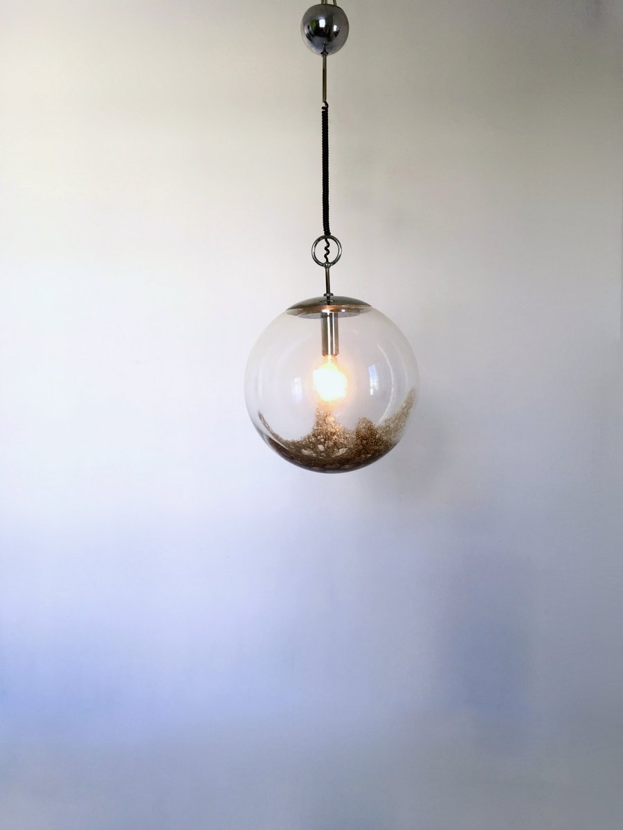 Large Vintage Pendant Light from La Murrina, 1970s for sale at Pamono