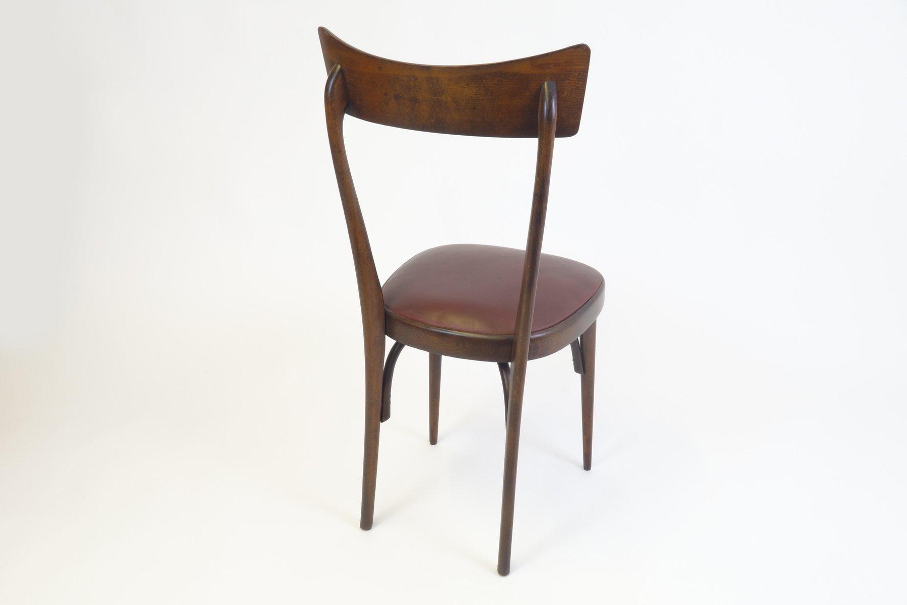 dining chairs set of 4. Mid-Century Italian Mahogany Dining Chairs, Set Of 4 Chairs