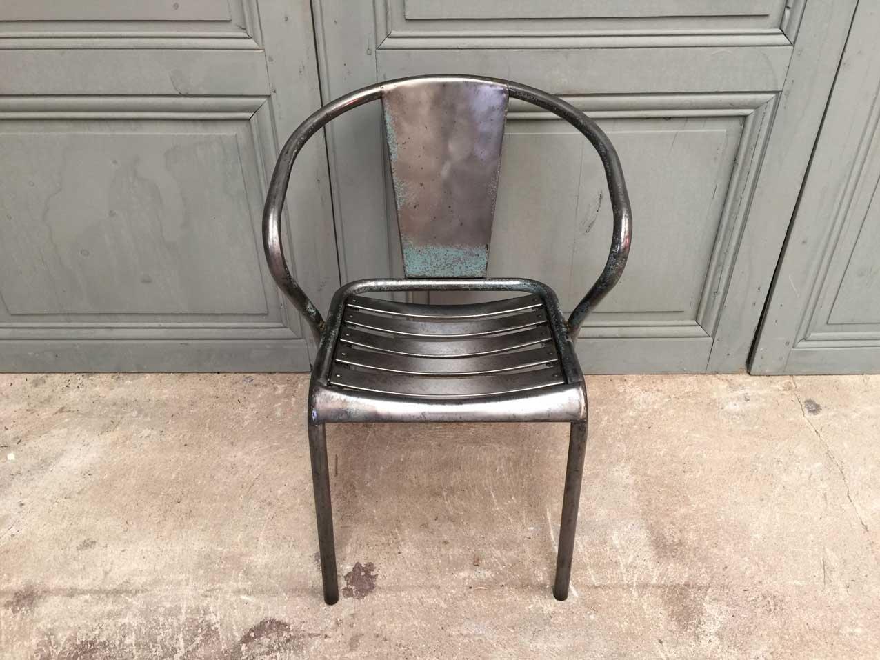 Tolix Stuhl französischer ft5 stuhl xavier pauchard für tolix 1950er bei